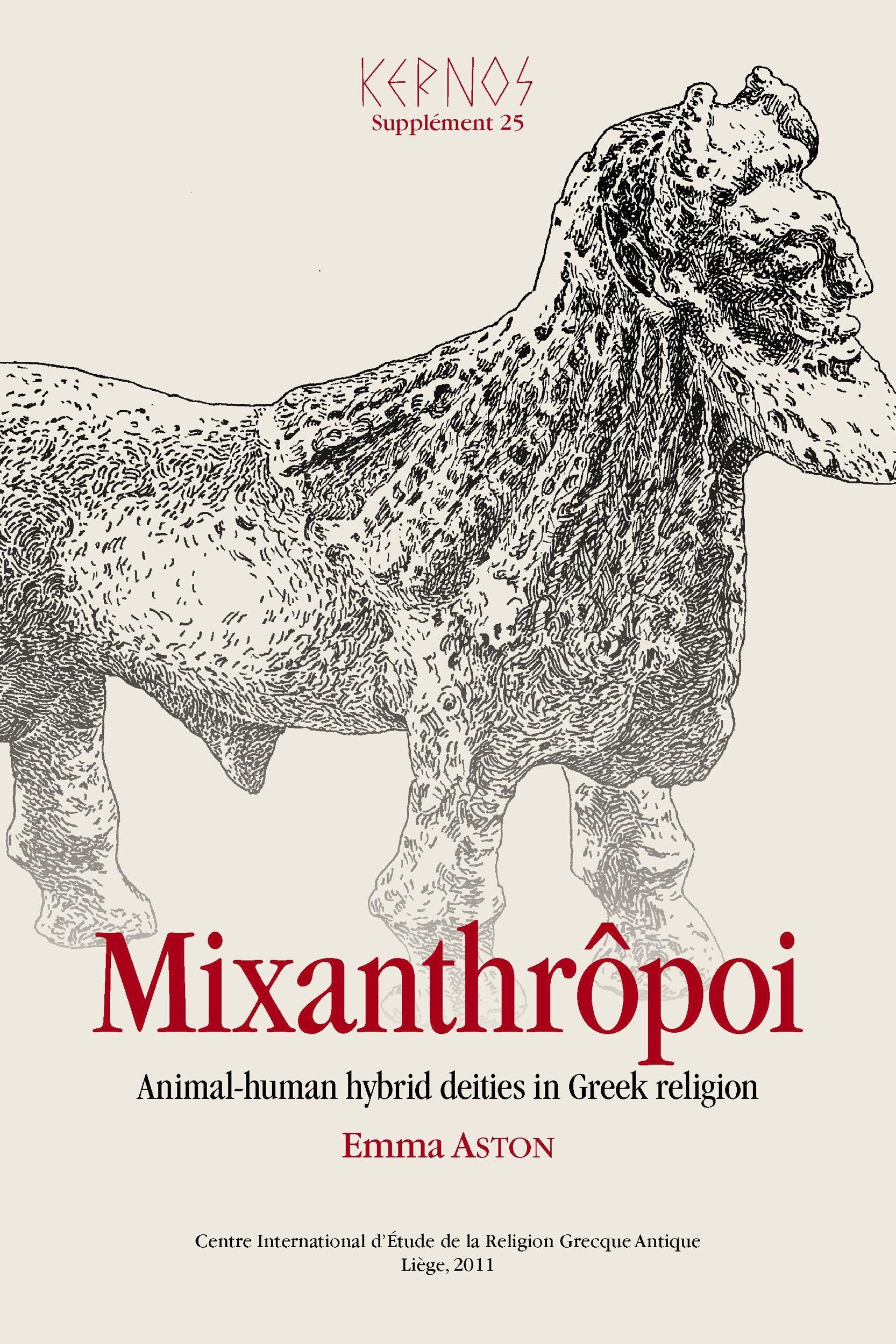Mixanthropoi animal-human hybrid deities in greek religion