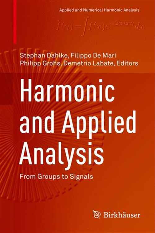 Harmonic and Applied Analysis