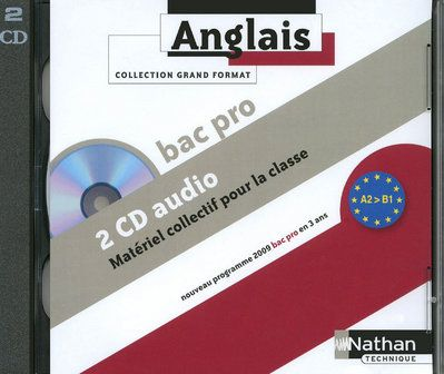 Anglais ; Bac Pro ; Niveau A2 A B1 ; 2 Cd Audio Collectifs
