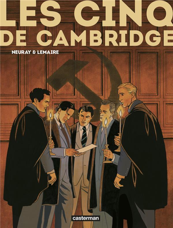 Les Cinq de Cambridge ; INTEGRALE T.1 A T.3