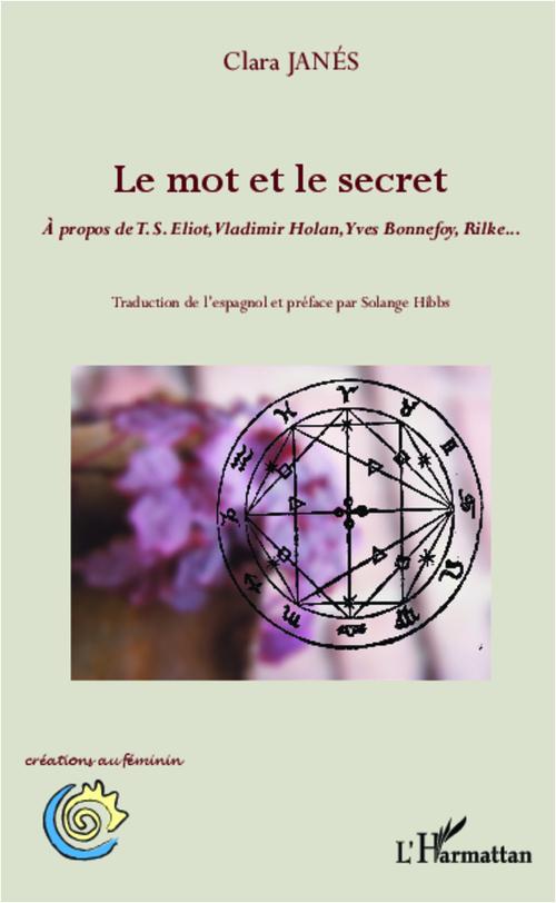 Mot et le secret ; à propos de T. S. Eliot, Vladimir Holan, Yves Bonnefoy, Rilke...