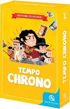 - TEMPO CHRONO HISTOIRE DU MONDE - JEU DE CHRONOLOGIE 7 ANS ET +