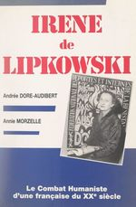 Irène de Lipkowski  - Annie Morzelle - Andrée Dore-Audibert