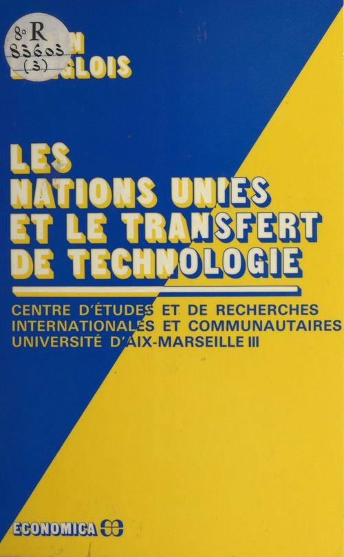 Les Nations unies et le transfert de technologie