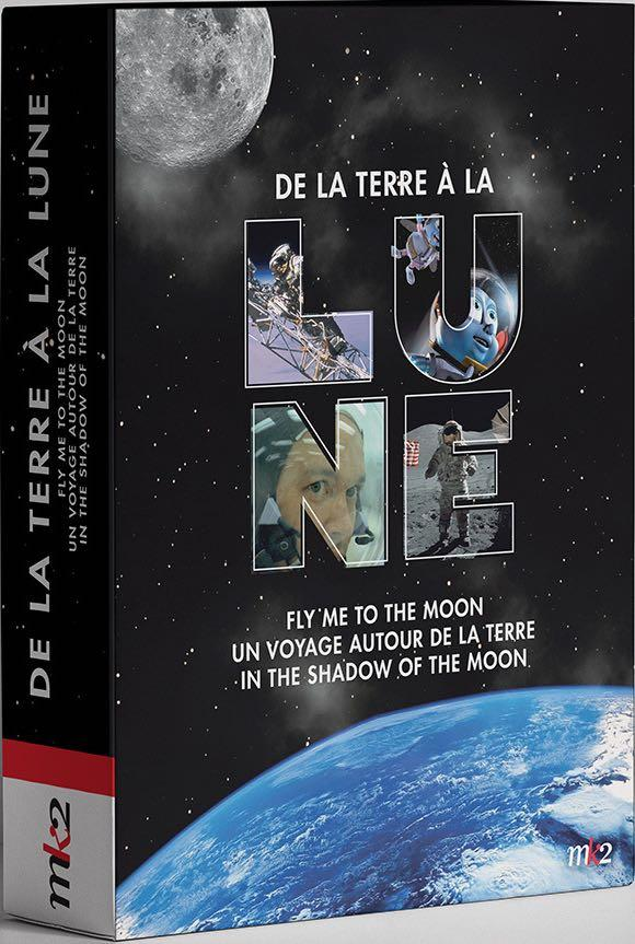coffret de la Terre à la Lune 3 films : fly me to the moon ; un voyage autour de la Terre ; in the shadow of the moon