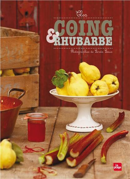 Coing et rhubarbe