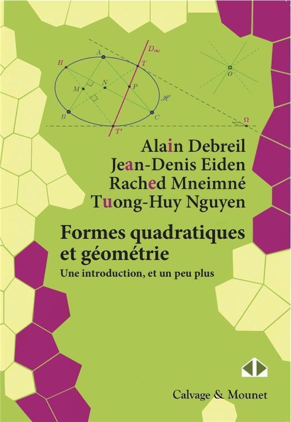 Formes quadratiques et géométrie