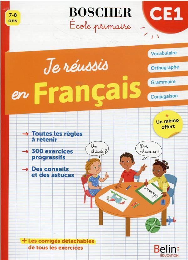 je réussis en français CE1