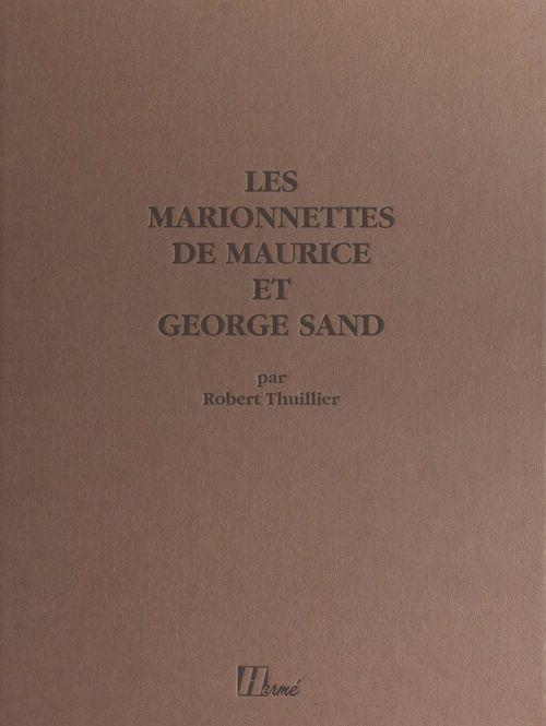 Les marionnettes de Maurice et George Sand