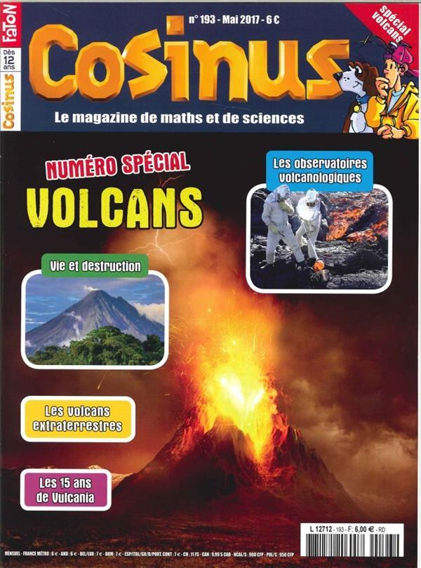 Cosinus n 193 special volcans mai 2017