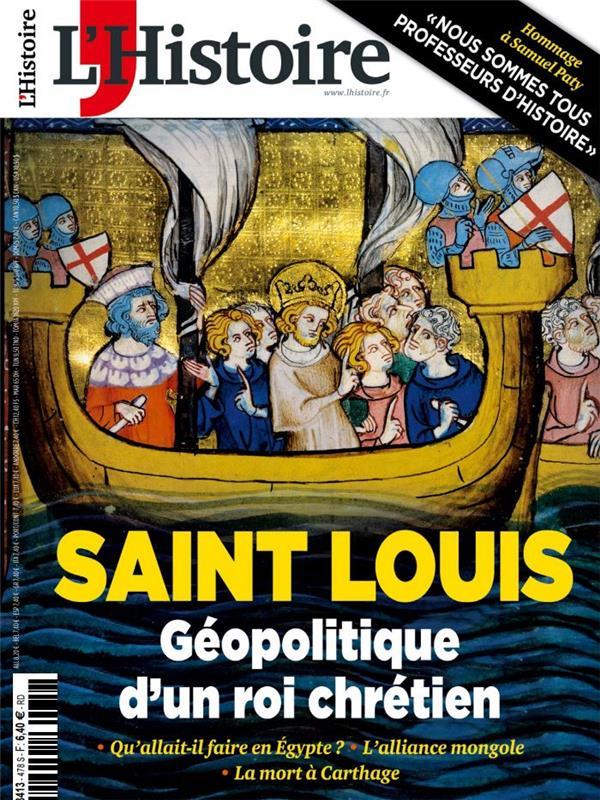 La histoire n 478 saint louis - decembre 2020