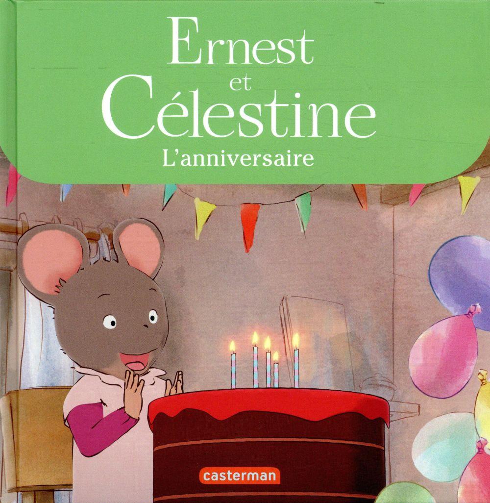 Ernest et Célestine ; l'anniversaire