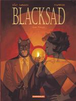 Couverture de Blacksad - Tome 3 - Ame Rouge