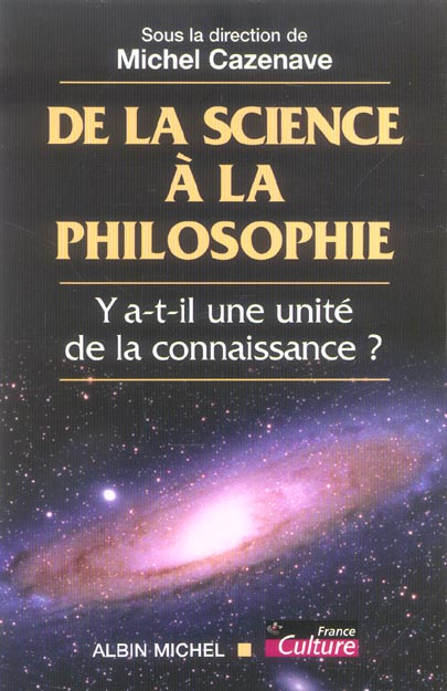 De la science a la philosophie