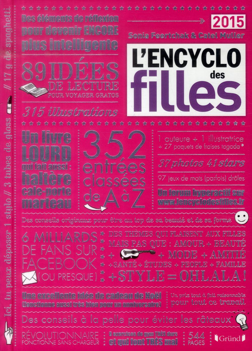 L'encyclo des filles (édition 2015)