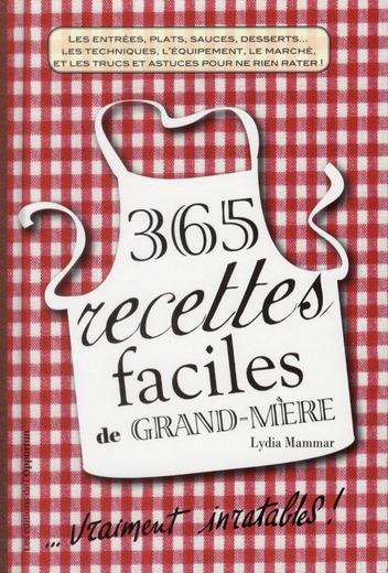 500 recettes faciles de grand-mère