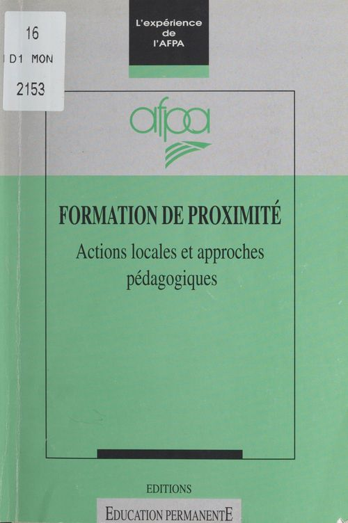 Formation de proximite