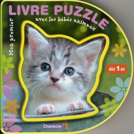 Mon Premier Livre Puzzle Avec Les Bebes Animaux