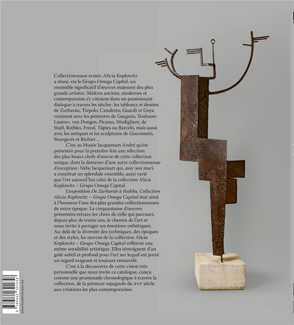 De Zurbarán à Rothko ; collection Alicia Koplowitz