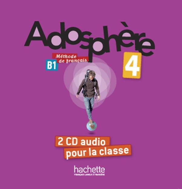 Adosphere 4 : cd audio classe (x2)