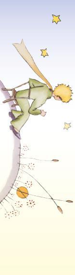 Marque-page Le Petit Prince T.11
