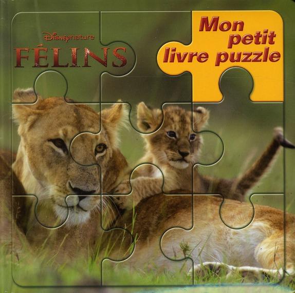 Mon Petit Livre Puzzle; Felins