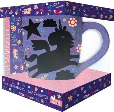 Mon Mug Magique Licorne Coffret Avec Mug Et Livre D Activites Louise Anglicas Deux Coqs D Or Grand Format Place Des Libraires