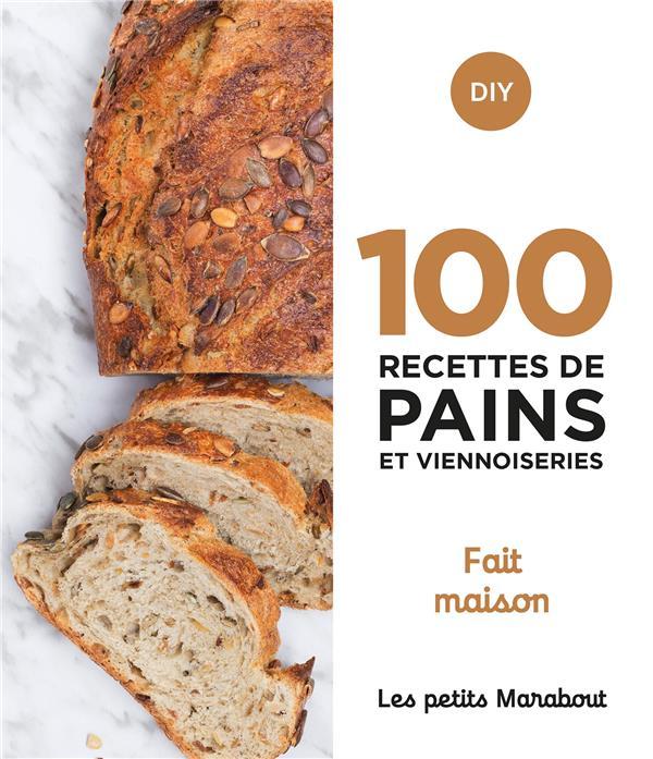 Les petits Marabout ; 100 recettes de pains et viennoiseries