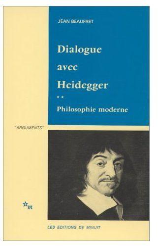 Dialogue avec heidegger t.2 ; philosophie moderne