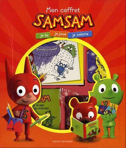 Samsam ; Mon Coffret ; Je Lis, Je Joue, Je Colorie