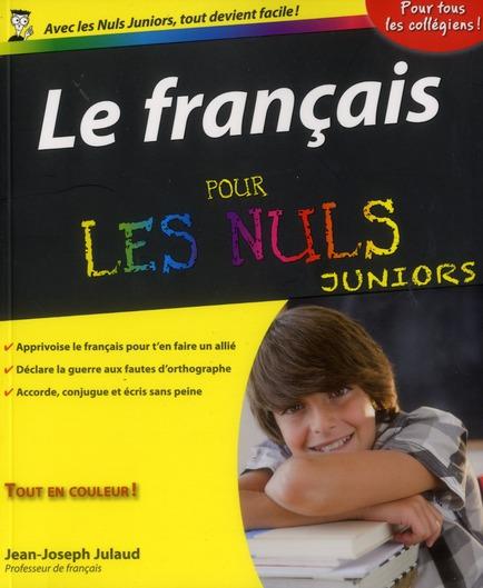 Le Francais Pour Les Nuls Juniors