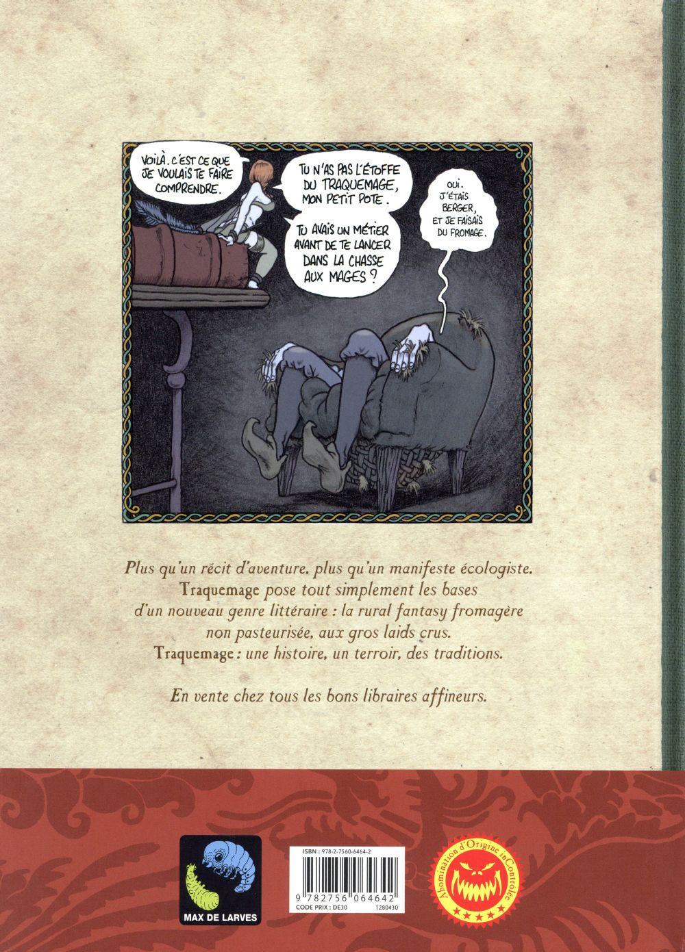 Traquemage T.1 ; le serment des Pécadous