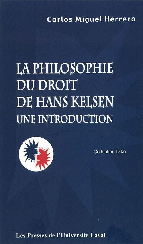 La philosophie du droit de hans kelsen : une introduction