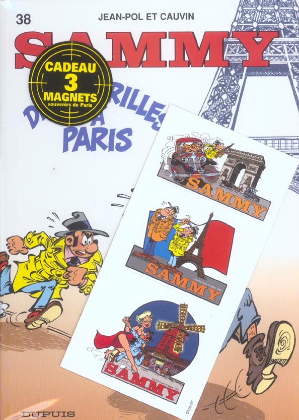 Sammy T.38 ; Deux Gorilles A Paris