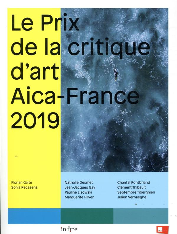 Le prix de la critique d'art AICA-France 2019