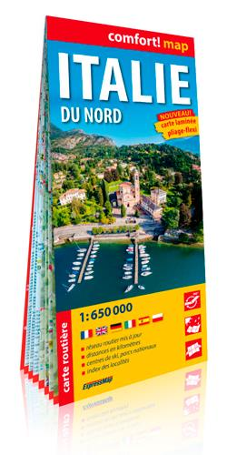 Italie du nord 1/650.000