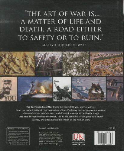 The encyclopedia of war - from ancient egypt to iraq