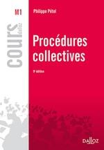Vente Livre Numérique : Procédures collectives  - Philippe Pétel