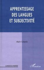 Vente EBooks : APPRENTISSAGE DES LANGUES ET SUBJECTIVITÉ  - Alain Coianiz