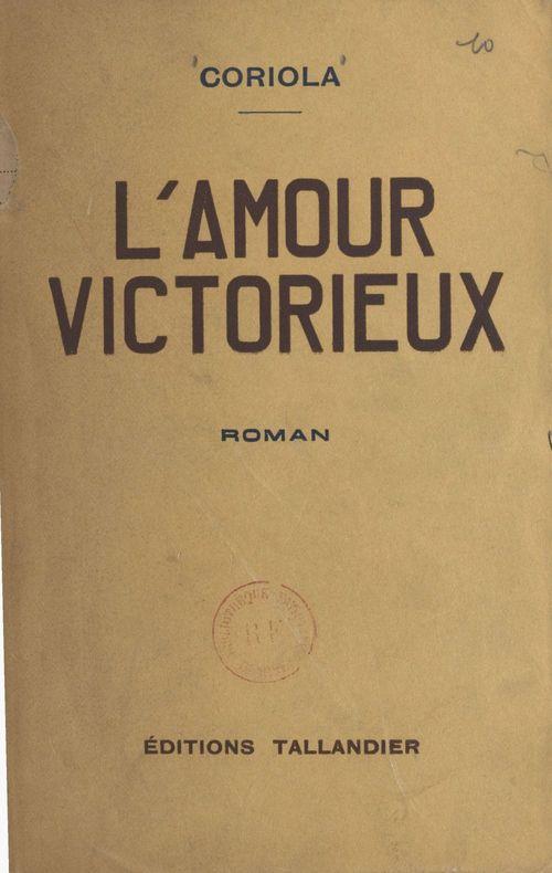 L'amour victorieux