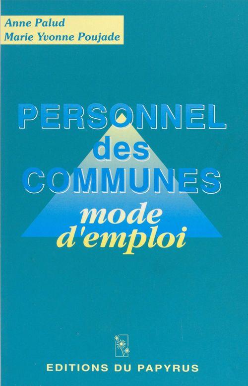 Personnel des communes mode d emploi