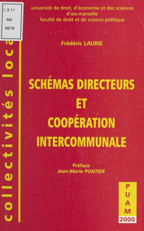 Schémas directeurs et coopération intercommunale