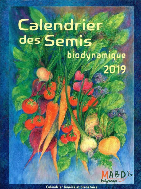 Calendrier Lunaire Septembre 2020 Rustica.Calendrier Des Semis Biodynamique Edition 2019 Mathias K Thun Maria Thun Bio Dynamique Papeterie Coloriage Les Pertuis Le Coureau