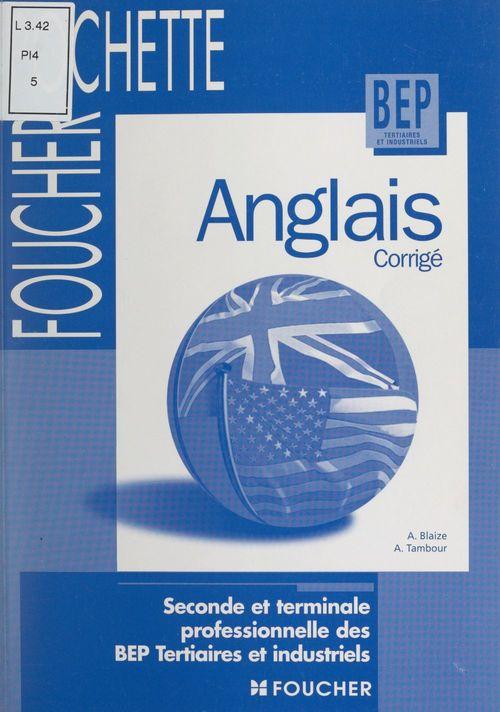 Anglais corrigé