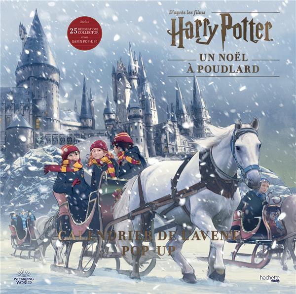 Harry Potter ; un Noël à Poudlard ; calendrier de l'avent pop-up