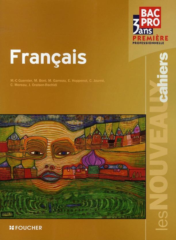 Les Nouveaux Cahiers Francais 1ere Bac Pro Livre
