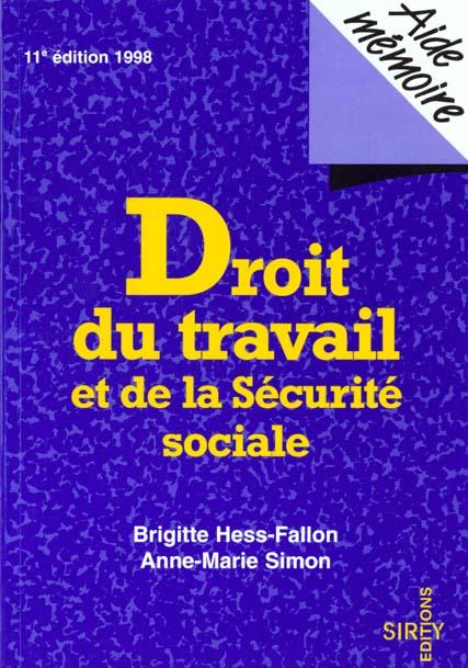 Droit du travail et de la securite sociale