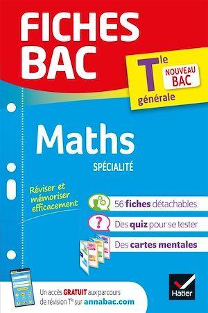 Fiches bac ; maths, spécialité ; terminale