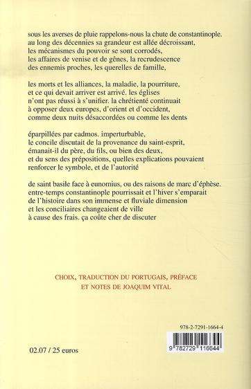 Une lettre en hiver et autres poèmes, 1963-2005