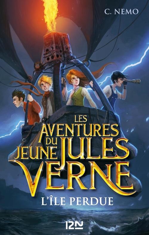 les aventures du jeune Jules Verne t.1 ; l'île perdue